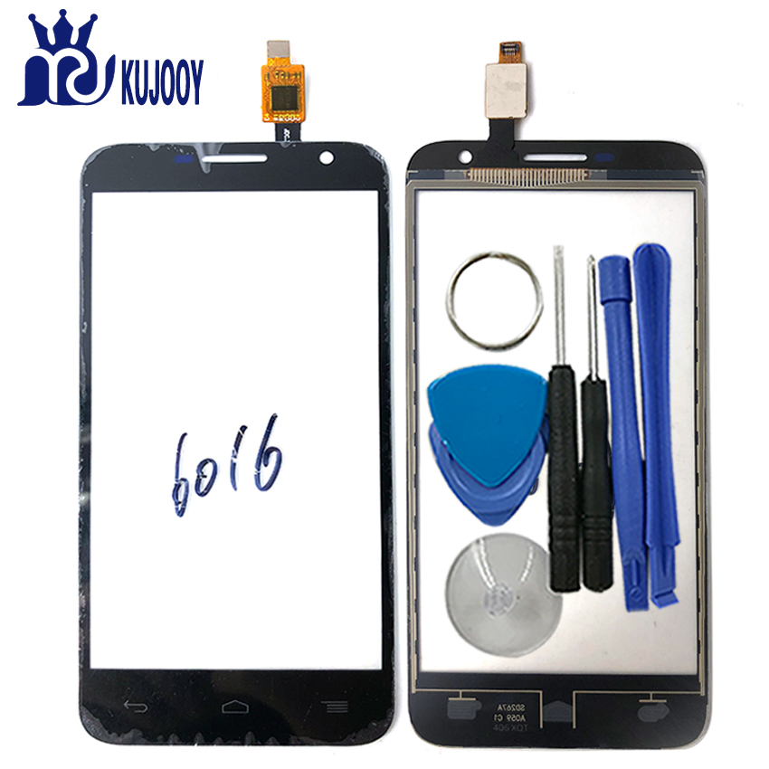 Touch Screen For Alcatel One Touch Idol 2 mini 6016 6016D 6016A 6016E 6016X OT6016 Sensor Glass Lens Digitizer Panel With Tools