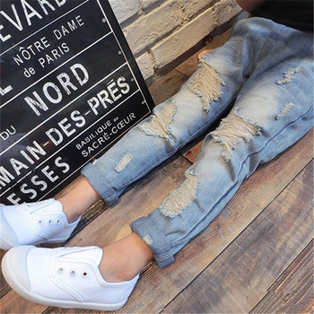 Children Ripped Hole Jeans Pants 2020 6