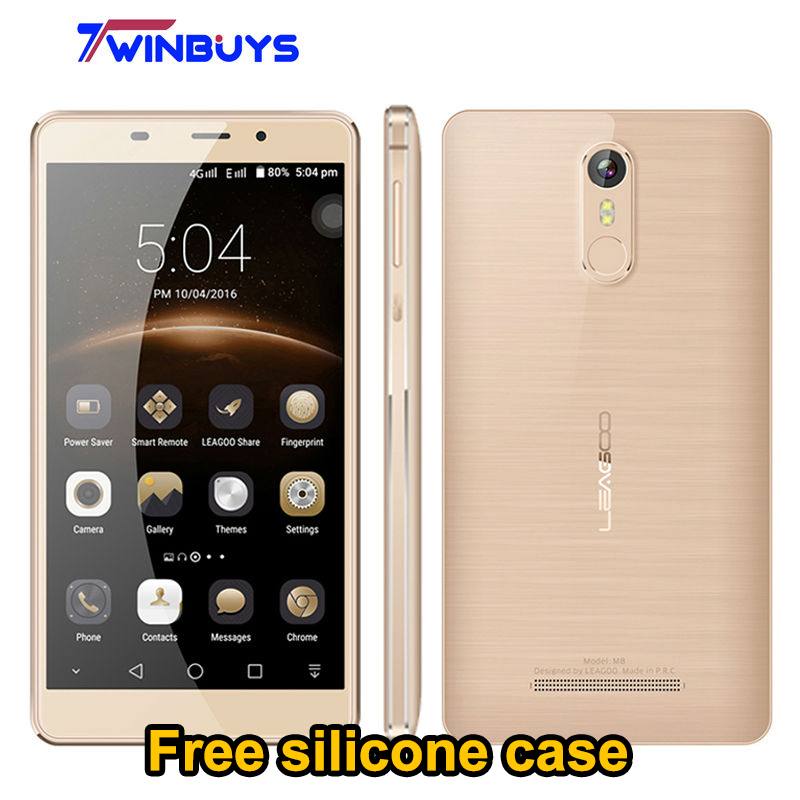 "bilder für Leagoo M8 3G Handy Android 6.0 MT6580A 5,7 ""HD Quad Core 2 GB RAM 16 GB ROM 13.0MP 3500 mah Fingerabdruck 3G WCDMA Smartphone"