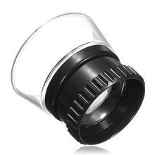 1pcs New Brand Portable 15X Monocular Magnifying Glass Loupe Lens Jeweler Tool Eye Magnifier Watch Repair Tool