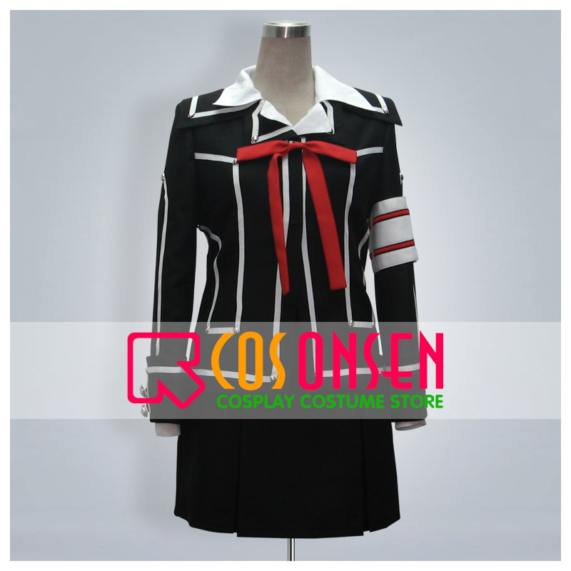COSPLAYONSEN Vampire Knight Yuki Cross Day Class Suits Cosplay Costume All Size Handmade