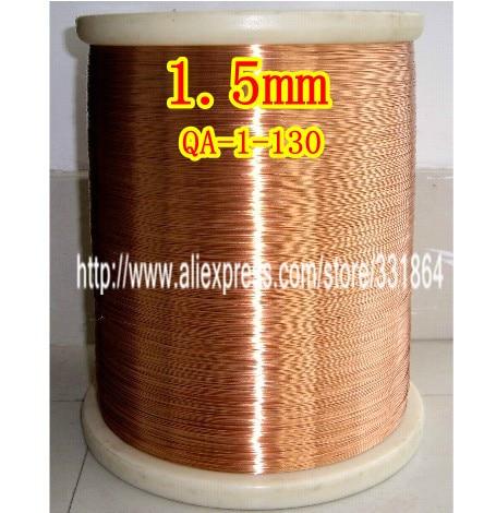 1.5mm * 40m / kpl QA-1-155Polyuretaani emaloitu Wire Copper Wire emaloitu Korjaus
