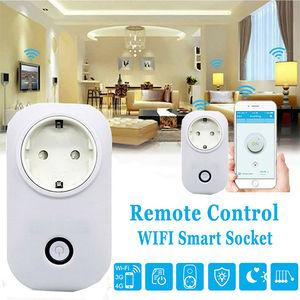 Image 2 - 10 PCS SONOFF S20 UE Smart Plug Wifi Presa di Corrente Timer Presa A Distanza Alexa Google Casa IFTTT Compatibile HWC