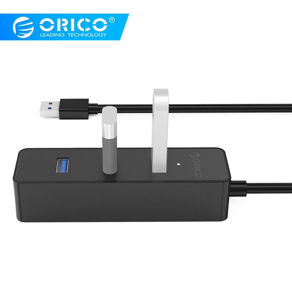 ORICO W5PH4 New Upgrade White Portable 4 Port USB 3.0/USB 2.0 HUB For Laptop/Ultrabook With VL812 Chipset-White