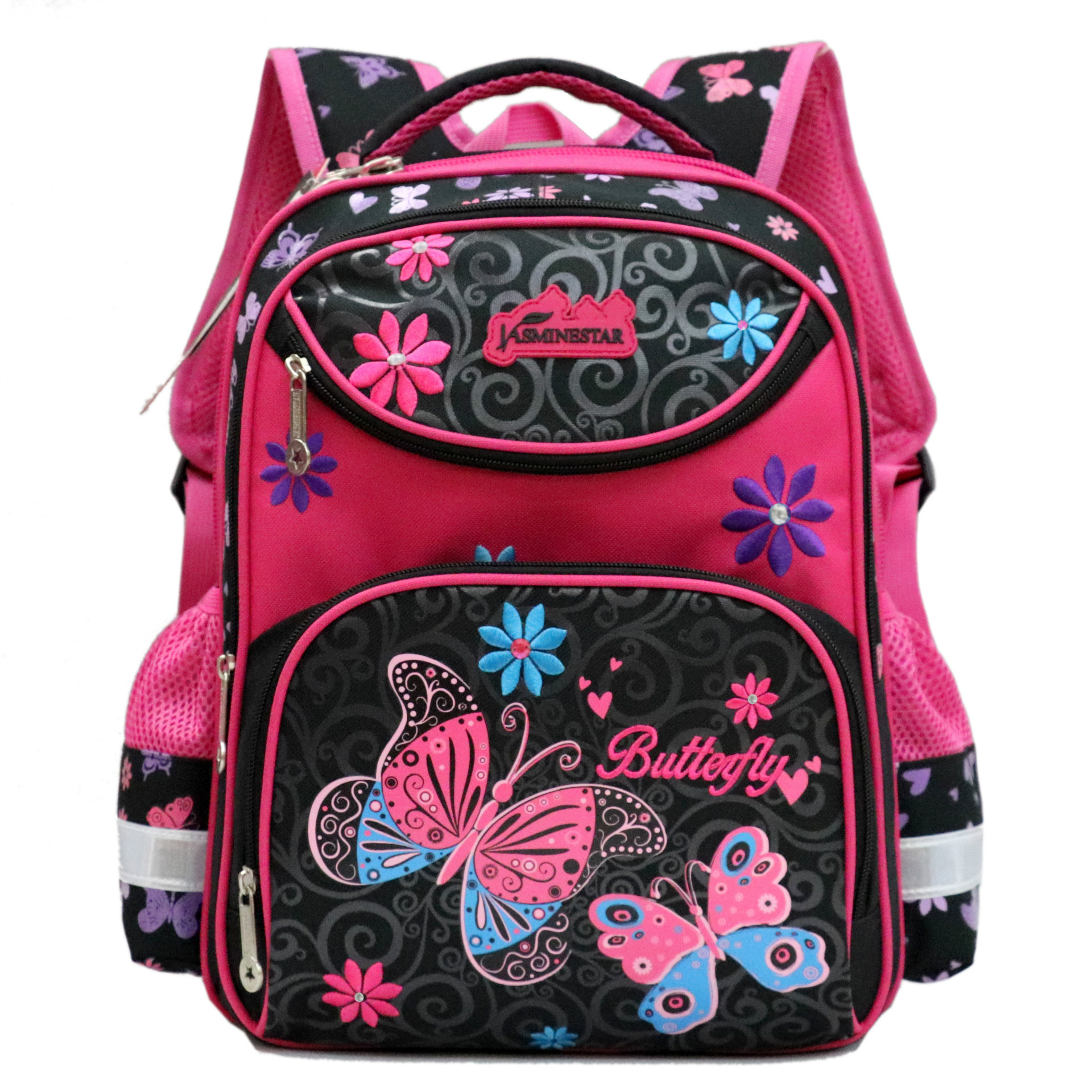 2018 New Children School Bags for Girls Butterfly Travel Backpacks for Teenagers Primary School Backpacks Mochila Infantil2018 New Children School Bags for Girls Butterfly Travel Backpacks for Teenagers Primary School Backpacks Mochila Infantil