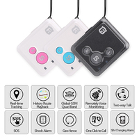 Mini GPS Locator Tracker V16 Real time Personal Tracking Device Kids Children GSM GPRS SOS Alarm Voice Monitor Two Way Talk SMS