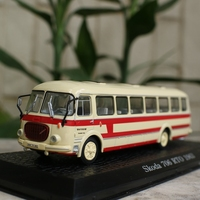 High simulation SKODA 706 RTO 1963 vintage bus,1:72 alloy car models,metal diecasts,collection toy vehicles,free shipping