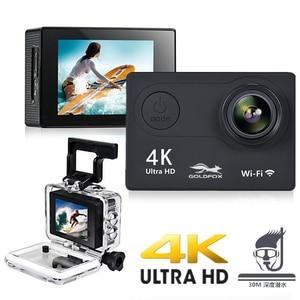 "Image 3 - H9 Action Camera Full HD 4K 25FPS WIFI 2.0"" Screen Mini Helmet Camera Go Waterproof pro Sports DV Camera Support 32G TF Card"