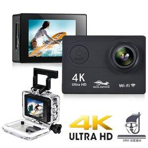 "Image 3 - H9 eylem kamera Full HD 4K 25FPS WIFI 2.0 ""ekran Mini kask kamera gitmek su geçirmez pro spor DV kamera destek 32G TF kart"