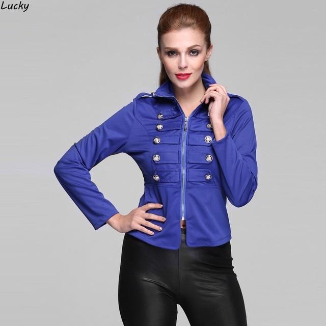 2015 Autumn Women's slim Zipper jacket parka winter jacket women coat casual Plus size 31