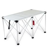 Барбекю кемпинг складной стол Сверхлегкий многофункциональный открытый обеденный стол Портативный стабильный отдыха эскиз стол мебель