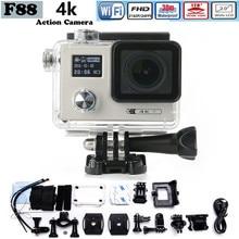 2017 WiFi Sport Camera F88 Action Camera Dual Screen 2160P HD 12MP Extra Sports Camara Go 30m Pro Waterproof Camera Hero