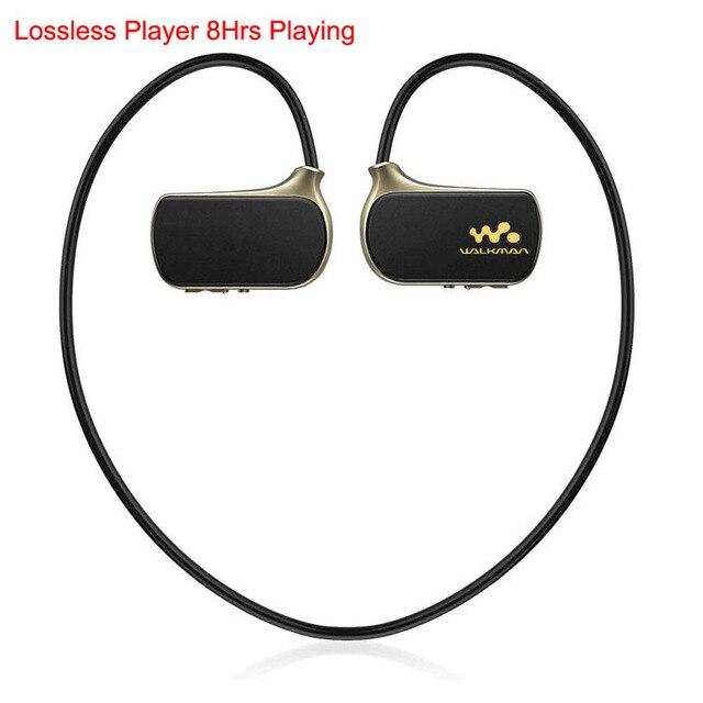 2017 Marca Sport MP3 Lossless Reproductor de Auriculares 8 GB para Hijo Walkman NWZ-W273 Pro WS615 8G Lettore Reproductores de mp3 Auricular manos libres