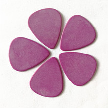 1000pcs Delrin Matt Standard 351 Shape Guitar Picks in Purple for Electric Accessories 1.14mm Thickness