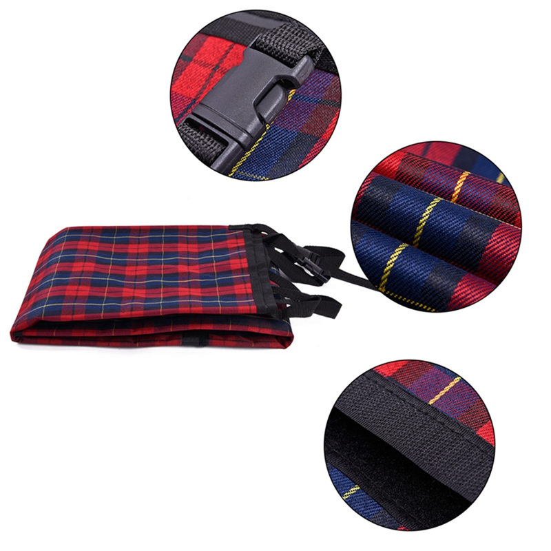 Pet Dog Car Seat Cover Durable Dog Cat Car Hammock Oxford Collapsible Dog Cushion Protector for Travel Car Back Guard Seat Fence 6