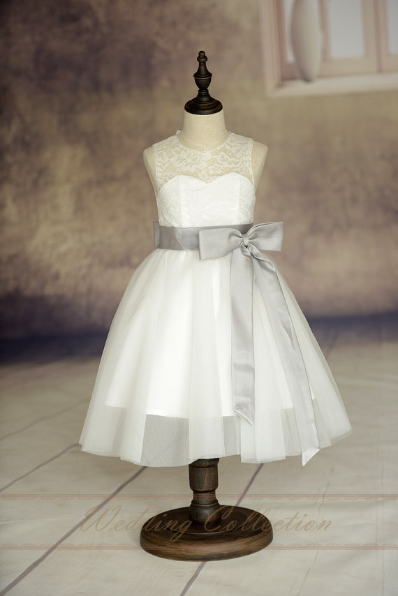 Ankle-Length Flower Girls Dresses For Wedding Gowns Free Shipping Girl Birthday Dress A-line Mother Daughter Dresses With Sashes free shiping flower girls dresses for wedding gown ankle length kids evening gowns tulle mother daughter dresses with sashes