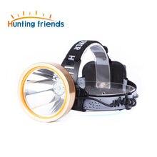 Светодиодный налобный фонарь для охоты и друзей перезаряжаемый