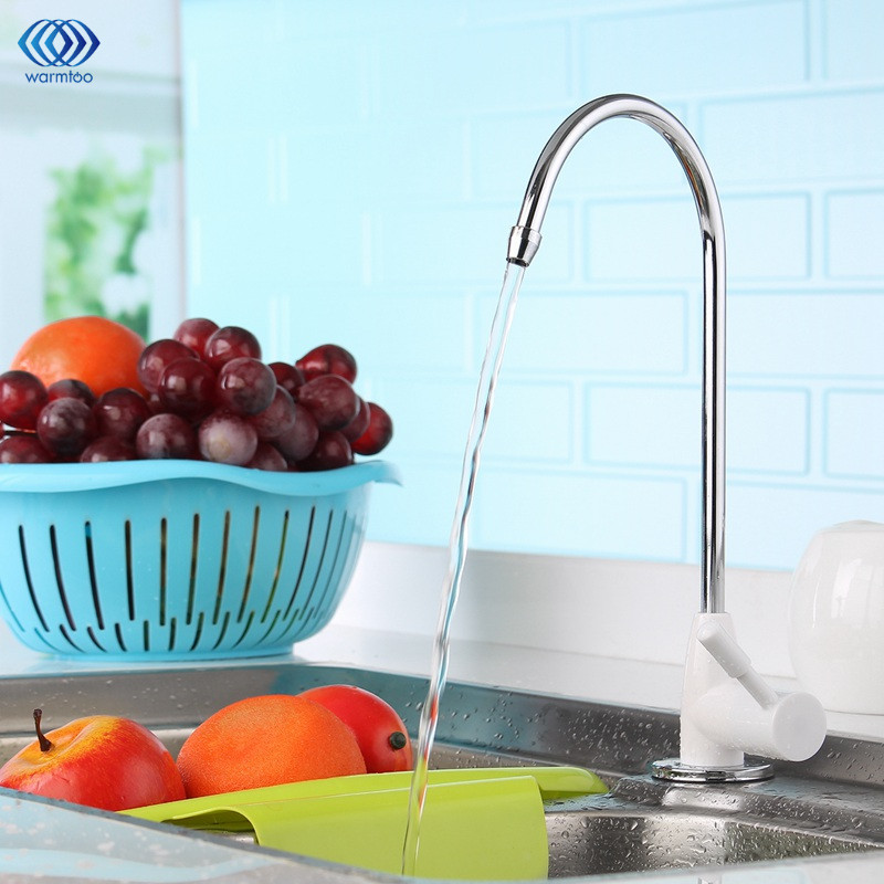 1/4inch ABS Plating Drinking Water Purifier Ceramic Faucet Filter Filtration Household Kitchen Faucet Fittings