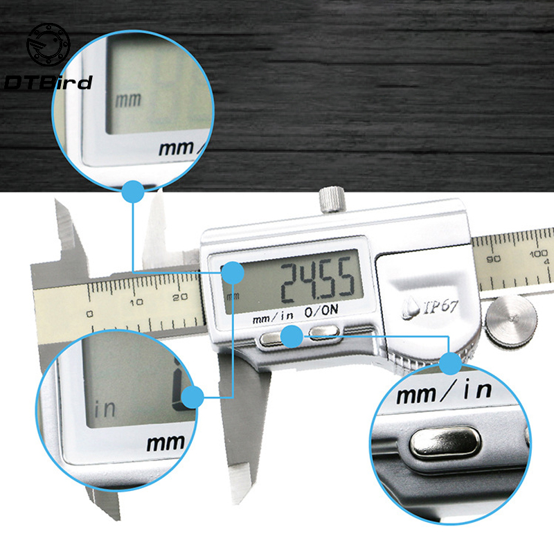 0.01mm 300mm IP67 Waterproof Digital calipers Stainless Steel Electronic Digital Vernier Caliper Measuring Tools0.01mm 300mm IP67 Waterproof Digital calipers Stainless Steel Electronic Digital Vernier Caliper Measuring Tools