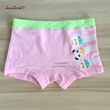 Girl Underwear Panties 2017 Kids Underpant Cotton Panda underwear for baby girls M-XL 3-8Y 1 pc little girl elastic panties  705