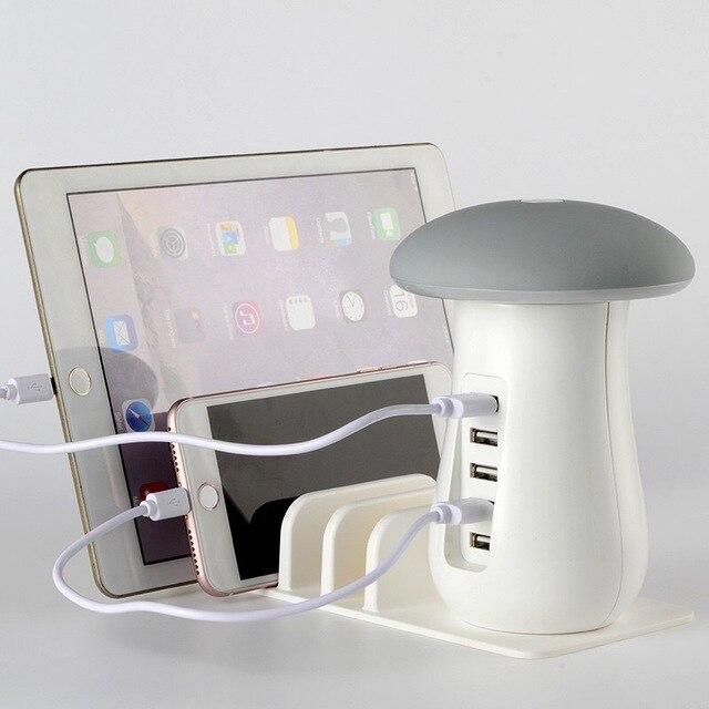 Aliexpress.com: Acheter 6 Ports USB Chargeur 40 W LED Lampe ...