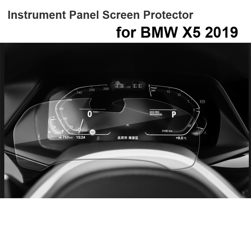 for BMW 2019 X5 G05 X 5 Instrument Panel Screen Protector Tempered glass Dash Panel Screen