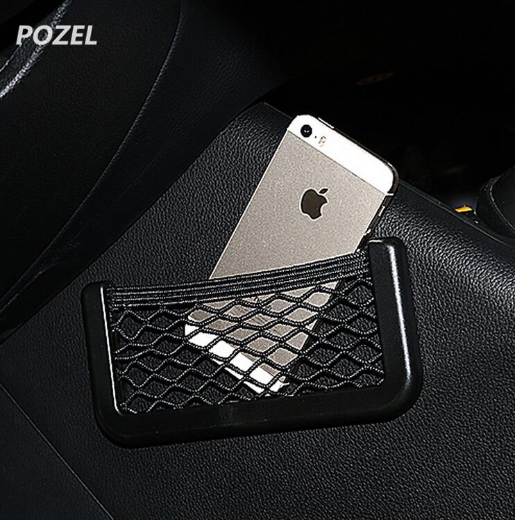 Car Seat Storage Net Bag Holder Pocket FOR Alfa Romeo