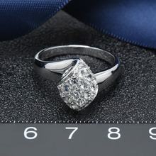 Hutang diamond wedding rings  925 sterling silver cubic zirconia wedding ring for women  fine fashion jewelry best gift for her hutang new style natural aquamarine promise ring solid 925 sterling silver gemstone ring fine jewelry wedding women s rings gift