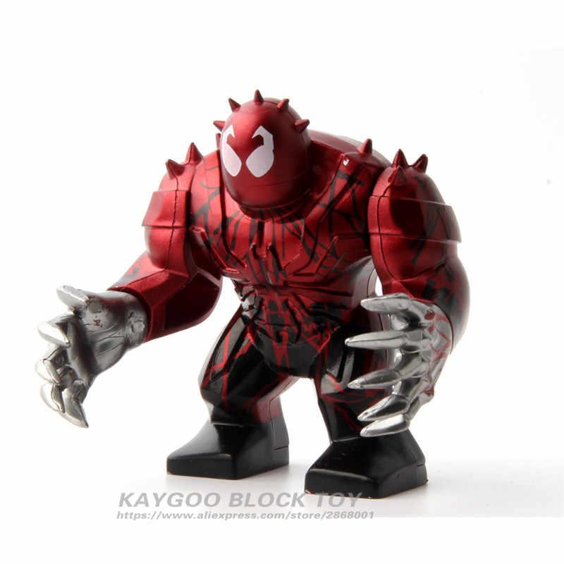 0295 большой Бэтмен DC Супер Герои Мстители Анит Веном Халк Бейн бойня модель строительные блоки наборы игрушки фигурки подарки