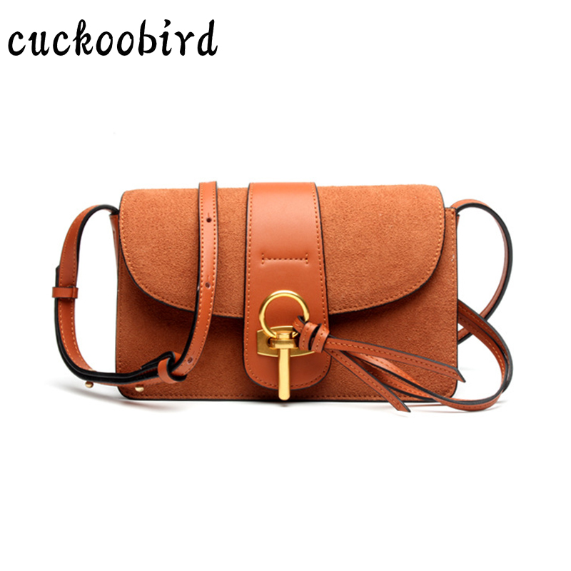 2018 Women Messenger Bags Women Bag Fashion Tassel Solid Shoulder Bag High Quality Genuine Leather Crossbody Quiled Crown Bags stylish women s crossbody bag with solid