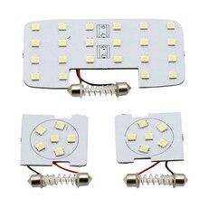 3 Pçs/set Carro luzes de leitura dome lâmpadas LED interior K2 adequado Para KIA RIO 2006 2017 para Hyundai Verna solaris