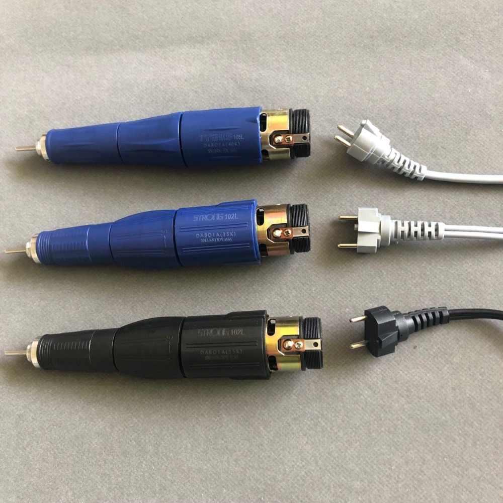 2 sztuk silne 210 204 90 102L 105L uchwyt kabel zasilający przewód elektryczny wiertarka i akcesoria do Manicure wiertarka elektryczna paznokci
