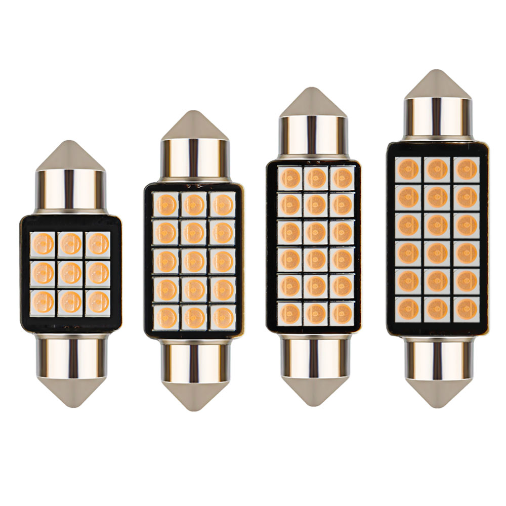 Image 5 - 1PCS Car Festoon Light C5W 31/36/39/41MM 3030 SMD Canbus Error Free Interior Reading Light Dome Bulbs Auto Plate Lamp white 12V-in Signal Lamp from Automobiles & Motorcycles