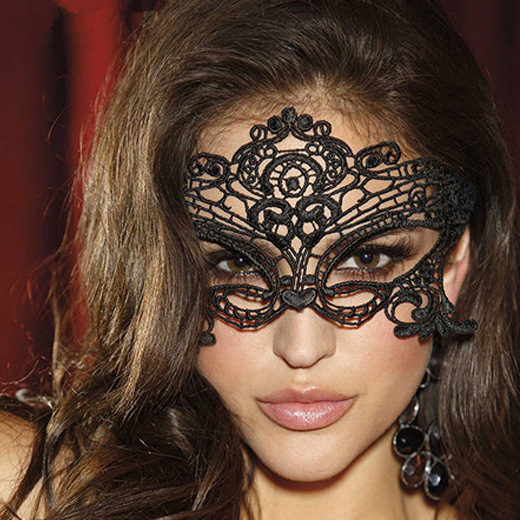 1PC High Quality Black <font><b>Sexy</b></font> Butterfly Lace Mask Cutout Eye Mask for <font><b>Halloween</b></font> Masquerade Party Fancy Dress Costume Party <font><b>Queen</b></font> image