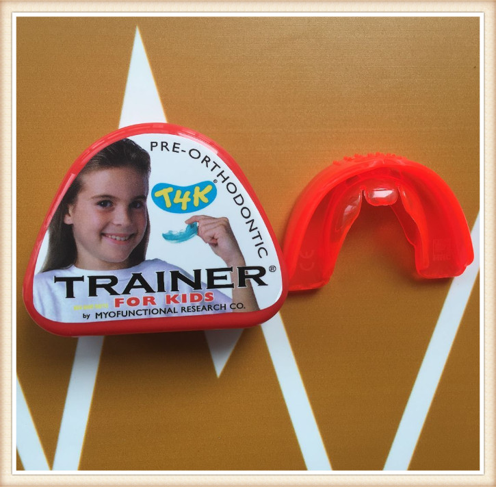 Australia T4K Pre-Orthodontic Trainer/Dental Teeth Traniers/dental material orthodontic appliance Trainer t4k teeth orthodontic trainer made in australia phase 2 red color