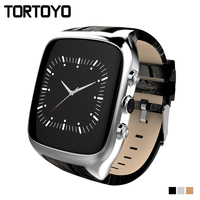 TORTOYO Updated X01S Smart Watch Phone Android 5.1 OS 4 Core 1GB+8GB 3G GPS WiFi 720P Camera Micro SD Card Heart Rate Wristwatch