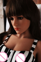 Realistic sex doll 155cm A cup small breasts sexy women life size love dolls for man with real soft skin and flexible skeleton