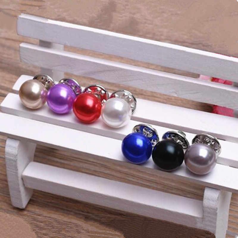 Лидер продаж классические элегантные женские ювелирные изделия Корея имитация жемчуга воротник кардиган шаль Пряжка DIY брошь для шарфа шпильки