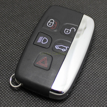 PINECONE 5 Buttons Smart Key Case for JAGUAR XFL XE XJ Remote Modified Blank Shell 1 PC