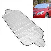 Car Windscreen Cover Snow Ice Protection Winter Guard Screen Frost Shield Silver