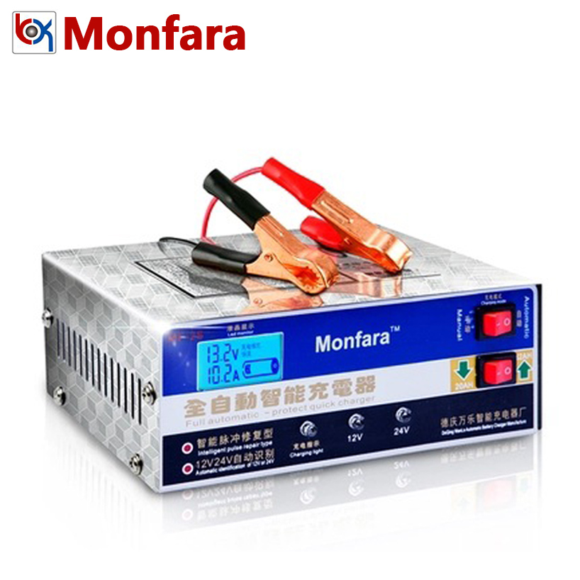 Full Automatic 12V 10A 24V 7.5A Automotive Motorcycle Tricycle Boat Float Sealed Battery Charger Lead Acid Calcium AGM GEL Car