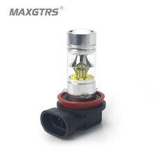 2X9006 HB4 9005 H8 H11 Освещение 100 Вт Светодиодные лампы cree чип XBD DRL Габаритные огни автомобилей туман лампа белый