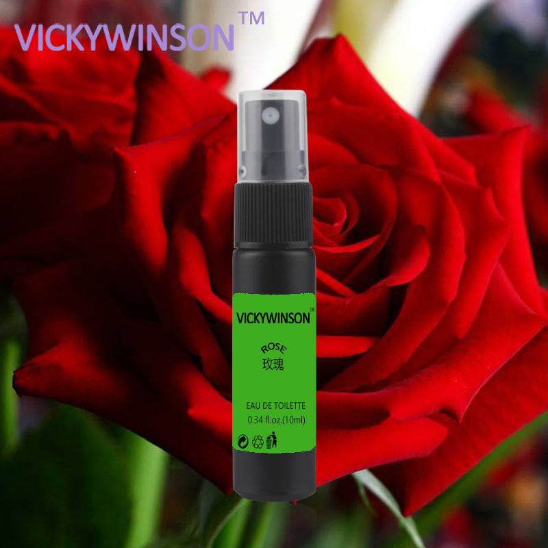 Купить с кэшбэком VICKYWINSON Rose deodorization 10ml Deodorant Fragrance Refreshing Long lasting Fragrances Antiperspirant