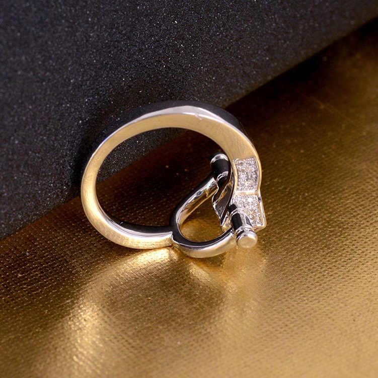 Khăn quàng cổ Kéo Khóa cho Nữ Nhẫn Đồng Lắc Chân Pin Zircon Trâm Cài Kẹp Vàng Bạc Nhẫn Hoa Quà Tặng Sang Trọng Trang Trí