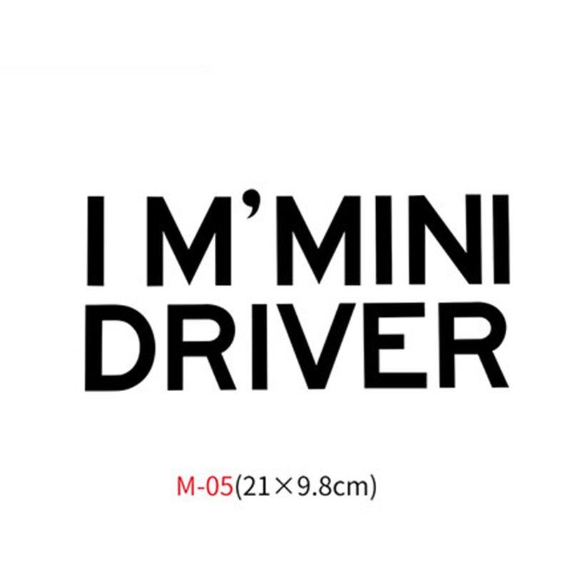 Различные автомобильные наклейки Union Jack для Mini Cooper One S JCW Countryman Clubman F55 F56 R55 R56 R60 F60 автомобильные аксессуары - Название цвета: M-05