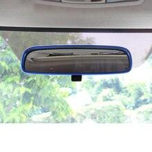Lsrtw2017 Aluminum Alloy Car Interior Rearview Glasses Frame Trims for Mitsubishi Outlander Sport Asx RVR 2011-2019 Accessories цена
