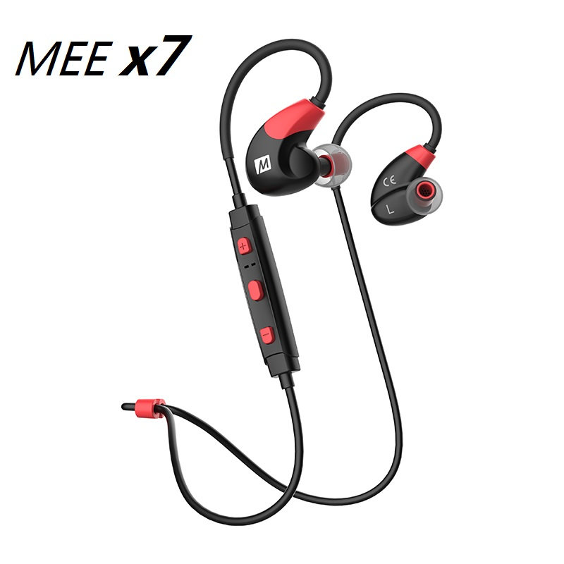 все цены на Big Sale MEE Audio X7 Stereo Wireless Headphones Sports Running In-Ear HD Bluetooth 4.1 Earphones With Mic Calls Control Headset онлайн