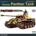 Tamiya modelo 35065 1/35 escala escala de plástico tanque alemão PANTHER tanque modelo de montagem modelo de construção kits de tanque de escama