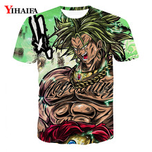 3D T shirt Dragon Ball Z Print Anime Casual Tee Shirts Summer Cartoons Tops Men Graphic Tees dragon ball t