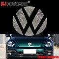 KJautomax для Фольксваген жуки Передняя Эмблема Sitcker Bling Rhinestone эмблема украшение логотипа 2013-2018